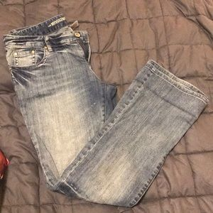 Mossimo Supply Co. Women's bootleg jeans size 13